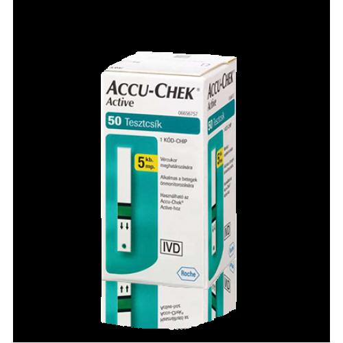 Accu-Chek Active 50x tesztcsík